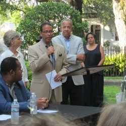 Keith Plessy speaking at Plessy Day 2016.jpg